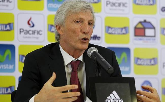 El director técnico de la selección colombiana de fútbol, el argentino José Pekerman. Foto: EFE