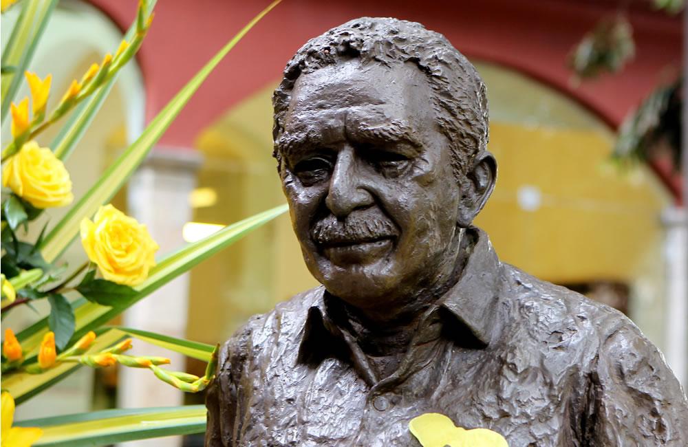 Homenaje a Gabriel García Márquez en Colombia. Foto: EFE