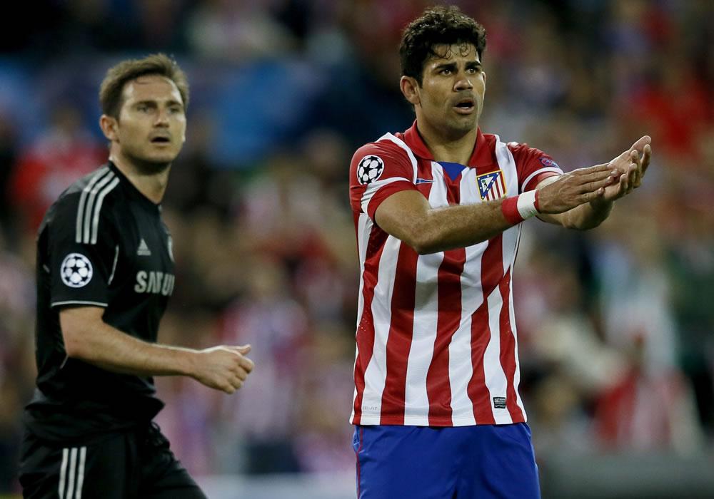 El Atlético, contra el Chelsea, Mourinho y 40 años de espera. Foto: EFE