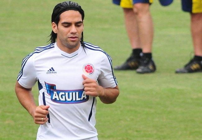 Radamel Falcao García trabaja para recuperarse antes del Mundial. Foto: EFE