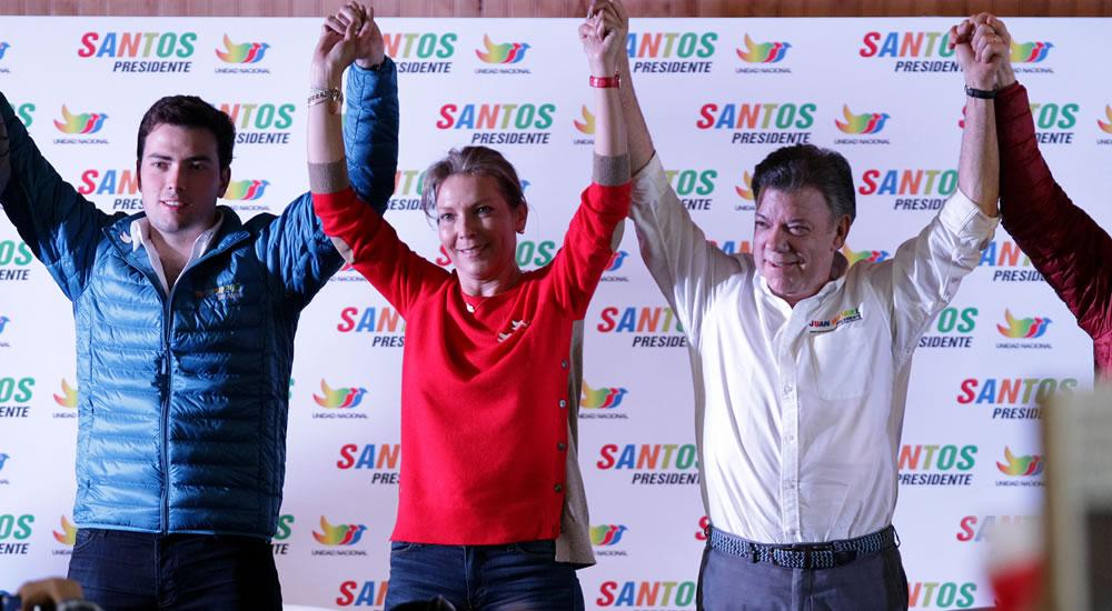 Santos cierra su campaña en plaza pública