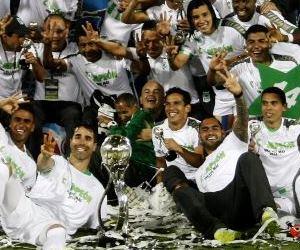 Nacional, el equipo más ganador de Colombia. Foto: EFE.