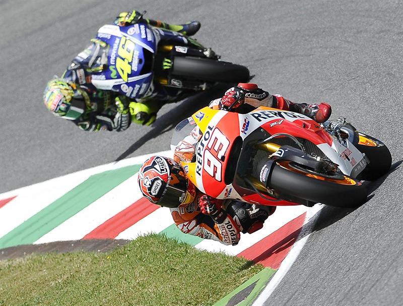El piloto español Jorge Lorenzo durante el Gran Premio de Italia. Foto: EFE
