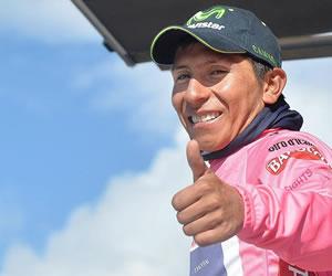 """Nairo Quintana, el ciclista que """"piensa en grande y hace en grande"""". EFE"""