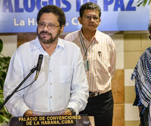 """FARC no piden """"cabeza de generales"""" pero sí un cambio de doctrina militar"""