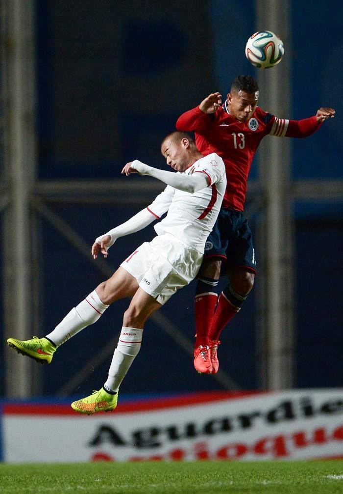 Imágenes del triunfo de Colombia sobre Jordania