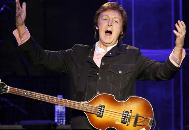 McCartney pospone sus conciertos en EEUU para recuperarse