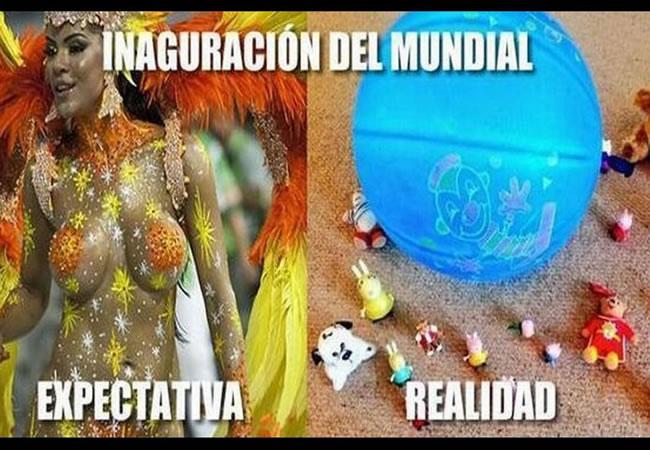 Los divertidos memes que dejó la inauguración del Mundial