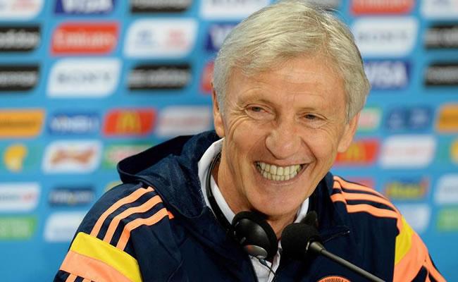 El entrenador argentino de la Selección Colombia José Pékerman. Foto: EFE
