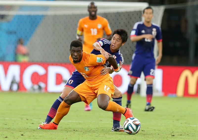 Costa de Marfil remontó en dos minutos del segundo tiempo