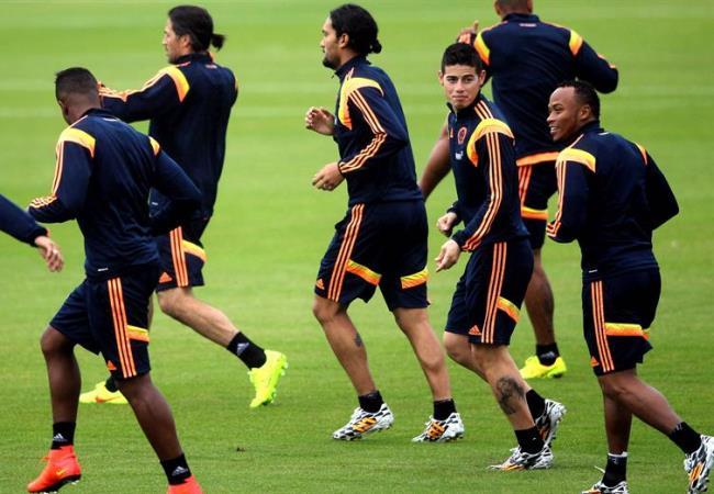 Muchos de los jugadores del plantel no recuerdan a Colombia en Francia 98. Foto: EFE