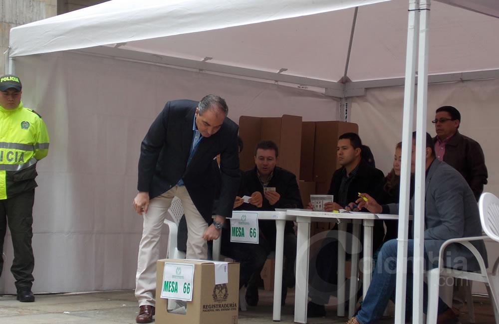 Así transcurrió la jornada electoral en la Plaza de Bolívar