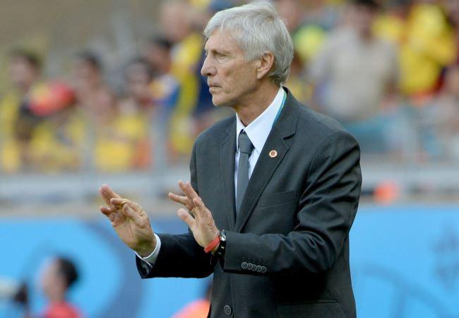 El argentino José Pékerman se ganó el aprecio del pueblo colombiano. Foto: EFE