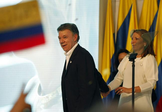 Juan Manuel Santos, Presidente de Colombia. Foto: EFE