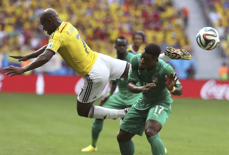 Las mejores fotos del triunfo y clasificación de Colombia