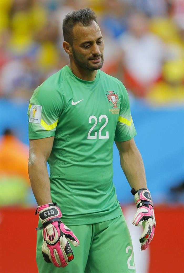 Goalkeeper Beto of Portugal reacts during the FIFA World Cup 2014 group G. Foto: EFE