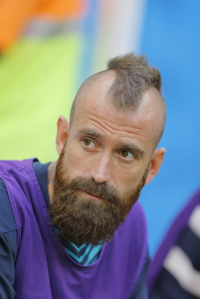 Raul Meireles of Portugal before the FIFA World Cup 2014 group G. Foto: EFE