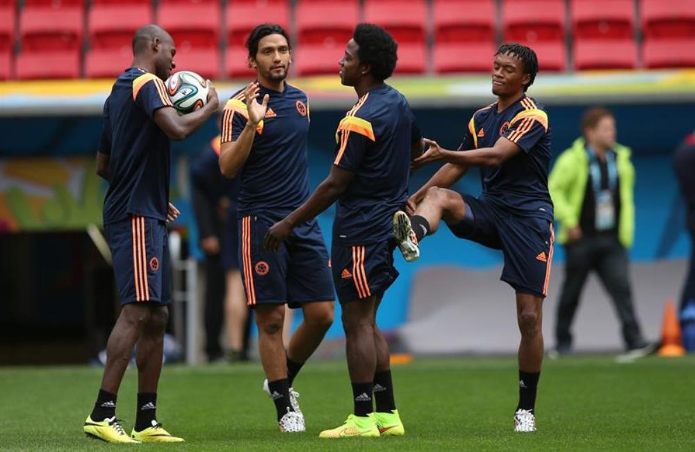 Colombia solo tendrá un entrenamiento en Rio de Janeiro antes del partido ante Uruguay. Foto: EFE