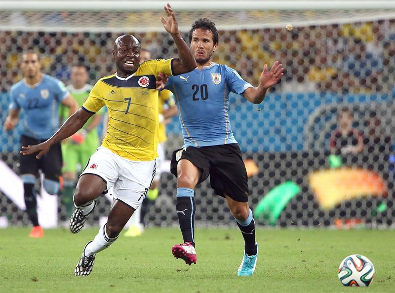 Un doblete de James Rodríguez sentenció el partido a favor de Colombia. Foto: EFE
