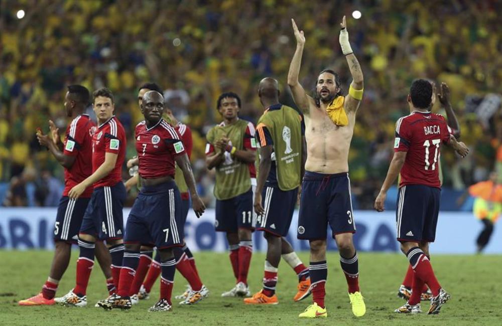 La mayoría de los jugadores de Colombia tuvieron aceptable calificación. Foto: EFE