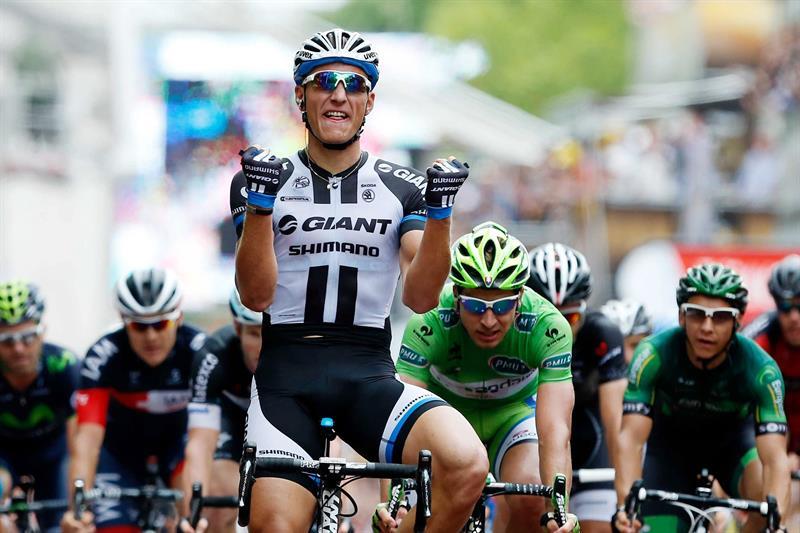 Kittel gana su segunda etapa en el
