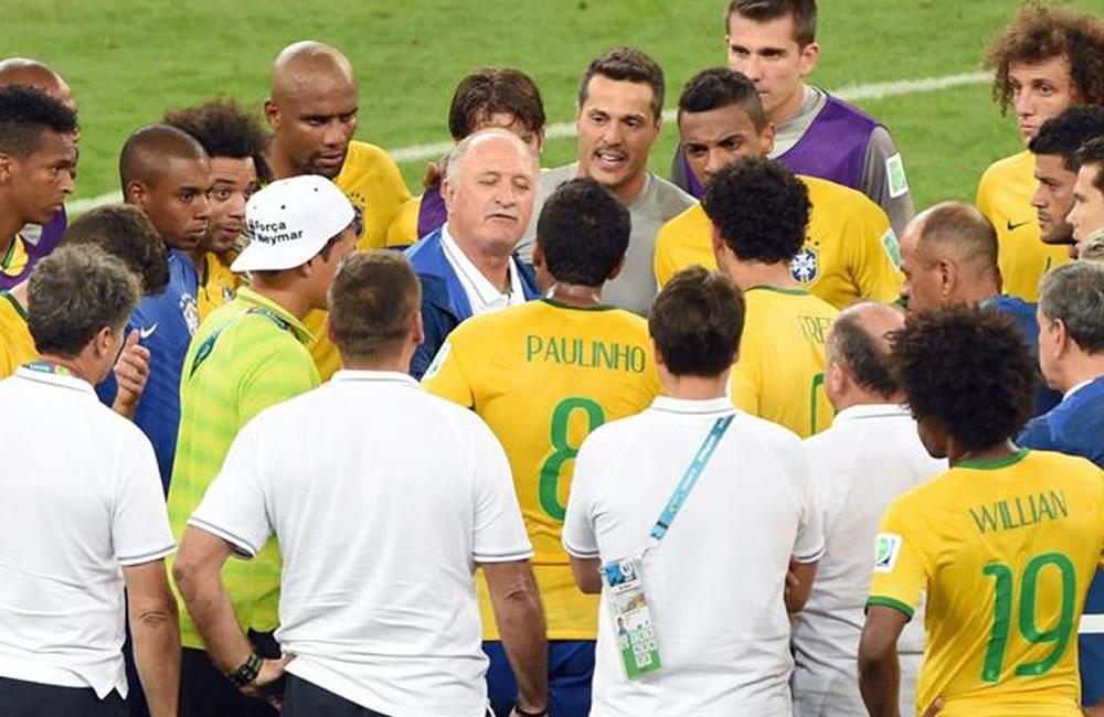 La derrota histórica de Brasil en el Mundial . EFE