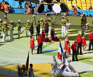 Así fue la clausura del Mundial Brasil 2014. EFE