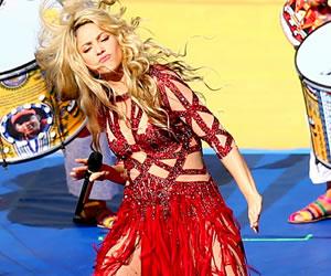 Shakira en la clausura del Mundial de Fútbol 2014 en Brasil. EFE