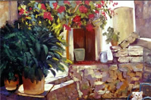 Pintura: Efraín Pérez Ballesteros
