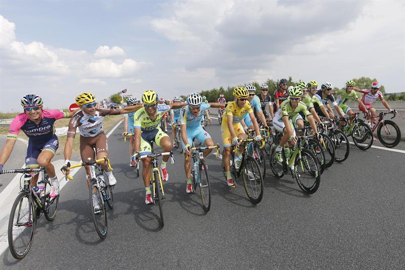El título de Níbali en el Tour de Francia en imágenes