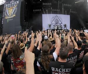 """El festival de """"heavy"""" de Wacken cierra su 25 edición"""