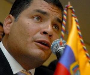 Correa llega a Bogotá con deseos de paz para Latinoamérica