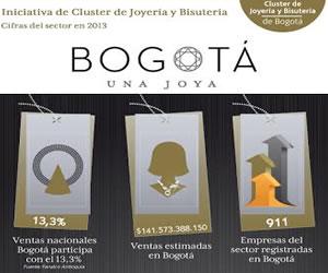 """Inspiración, creatividad en la exposición """"Bogotá una Joya"""""""