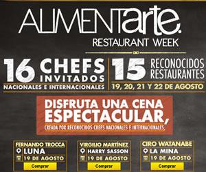 Alimentarte Zacapa Restaurant Week llega a Bogotá