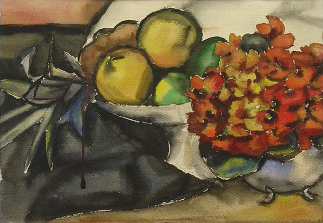 ¨bodegón con flores, 1937¨