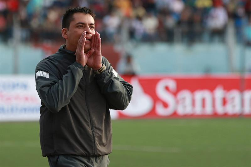 UT Cajamar y Cali empataron 0-0 en Perú en el inicio de la Sudamericana. Foto: EFE
