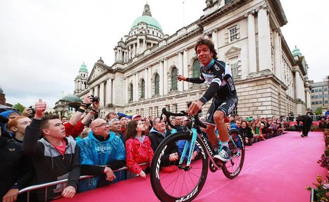 El ciclista colombiano Rigoberto Urán. Foto: EFE