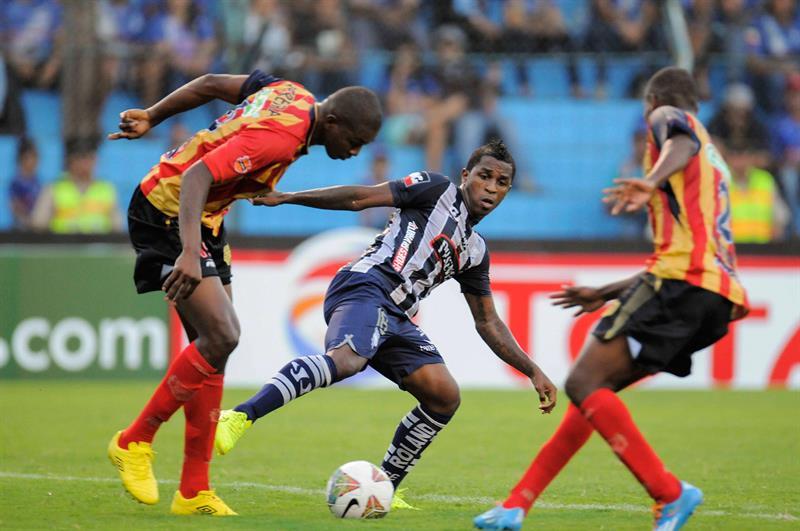 Águilas Doradas perdió 2-1 y quedó afuera de la Copa Sudamericana. Foto: EFE.