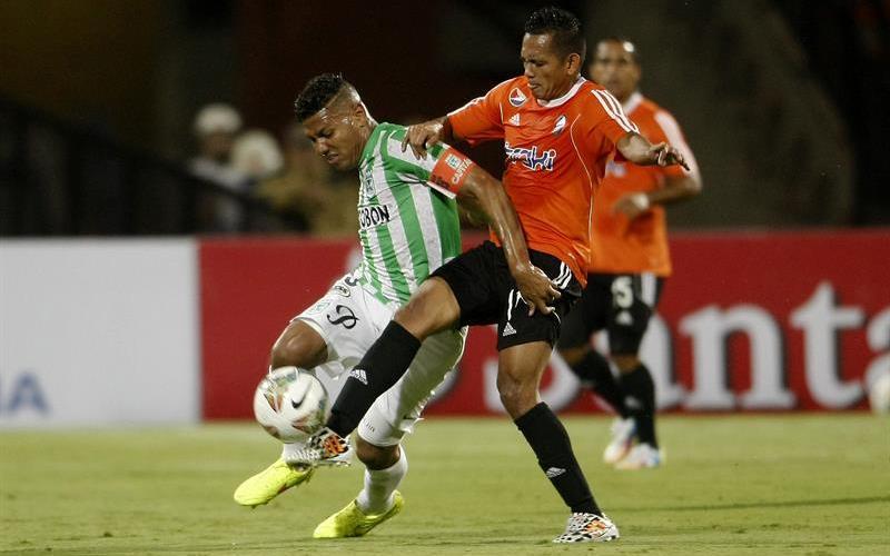 Nacional le ganó 1-0 de local a La Guaira y avanzó en la Copa Sudamericana. Foto: EFE