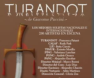 Regresa el gran espectáculo Turandot a Bogotá