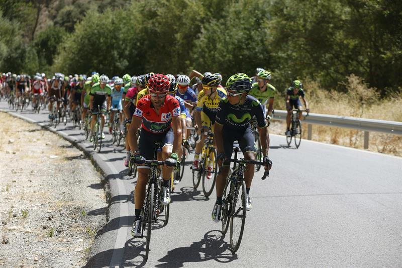 El italiano De Marchi triunfa en Alcaudete; Valverde sigue líder