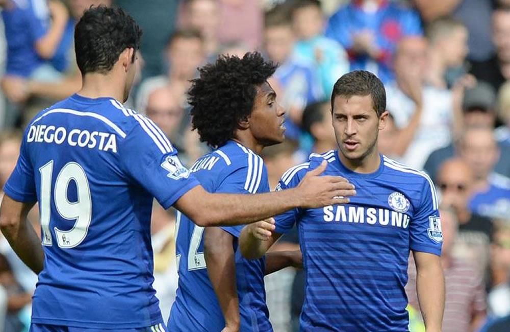 Chelsea y Manchester City luchan por abrirse paso hacia la primera plaza. Foto: EFE