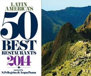 50 Mejores restaurantes de América Latina 2014