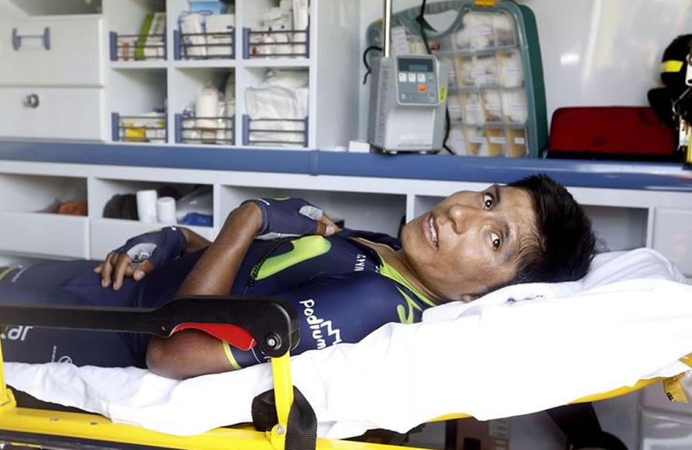 El ciclista colombiano Nairo Quintana. Foto: EFE