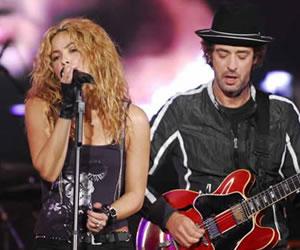 Shakira y Juanes expresan su tristeza por la muerte de Gustavo Cerati
