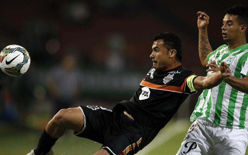 Nacional perdió 2-0 ante General Díaz, que marcó con Pedro Chávez (16) y Blas Cáceres (25'). Foto: EFE
