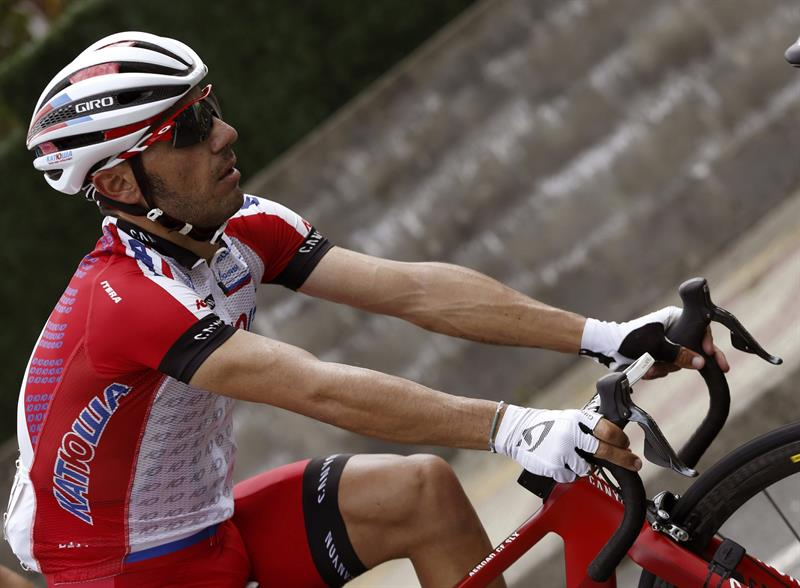 El ciclista catalán del equipo Katusha, Joaquim