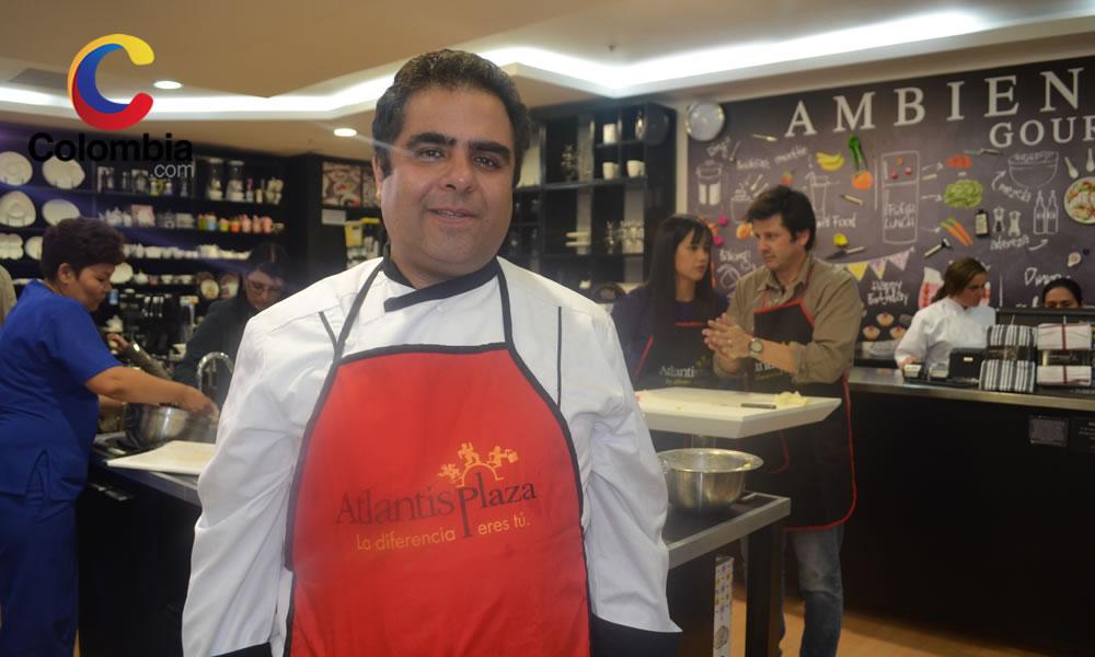 Chef Pablo Renjifo. Foto por: Alejandra Fontecha y Natalia Quevedo // Colombia.com