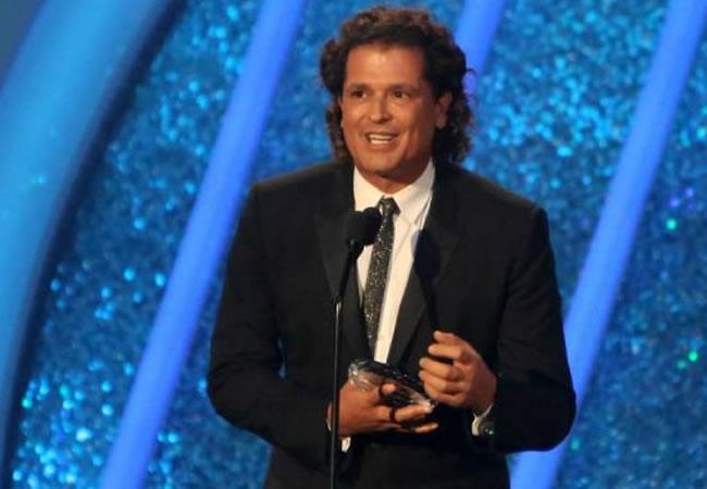 Carlos Vives recibió  el premio