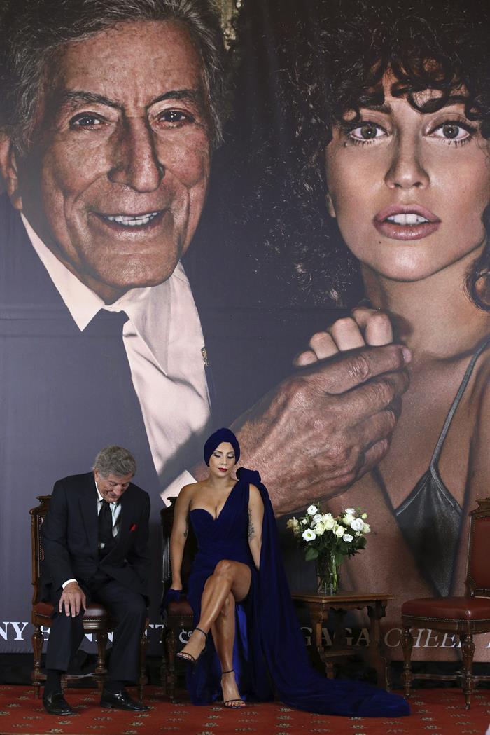 El jazz une en la capital belga a Lady Gaga y al legendario Tony Bennett